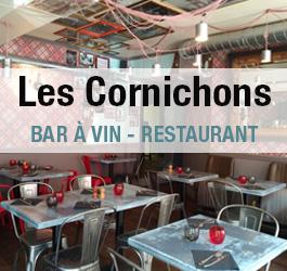 logo les Cornichons - bar à vin restaurant à reims